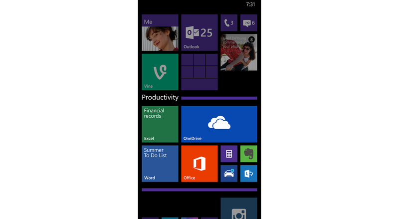 A New Version of Windows Phone 8.1 Is Coming and It's Bringing Folders