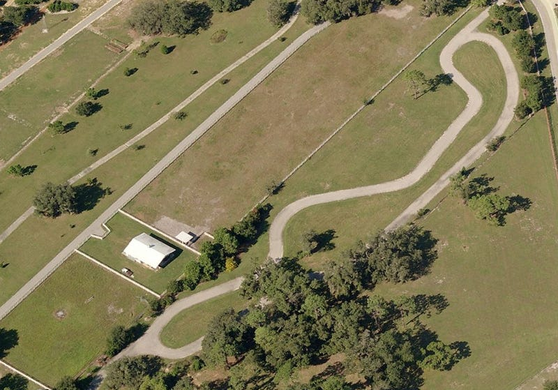 Google Earth Reveals Coolest Driveway Ever