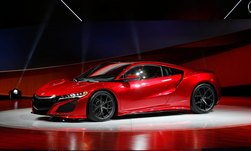 NASCAR Owner Rick Hendrick Paid $1.2 Million For The First 2017 Acura NSX