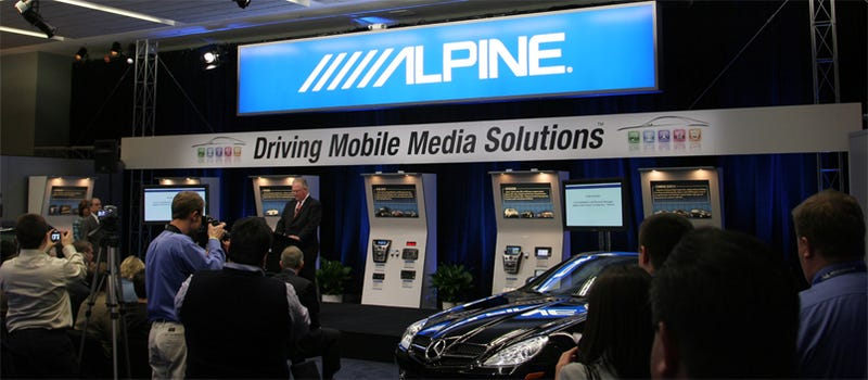 Alpine Showcases IPod-Like Multimedia Systems For GM, BMW, Mercedes