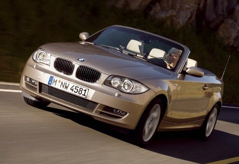 BMW 1-Series Convertible Revealed, To Hit the US in 2008