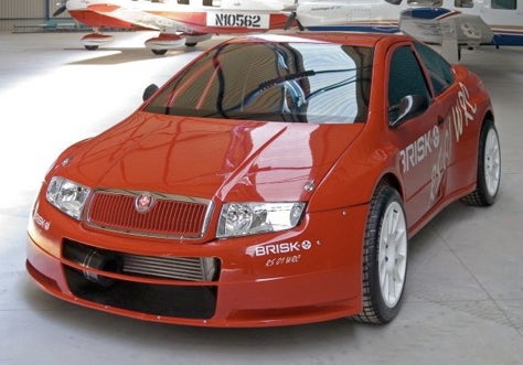A Very Brisk Fabia: New Skoda Rally Car