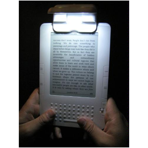 The Kandle Is a Really Good Name For an eReader Light