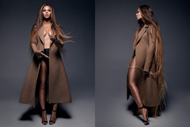 Beyoncé Looks Gorgeous in Spread for Carine Roitfeld's Magazine