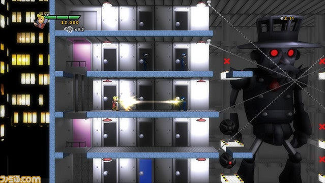 New Elevator Action Inaction. Screens Don't Move!