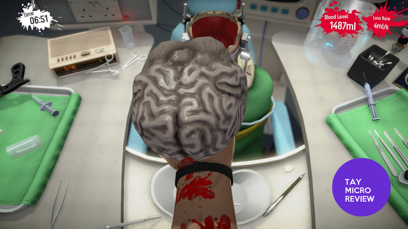 Surgeon Simulator Anniversary Edition: The TAY Micro Review