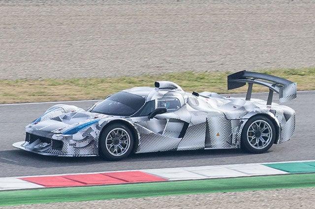 Ferrari Testing New LeMans Racer?