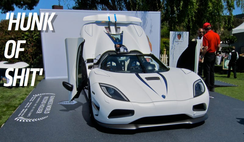Former Koenigsegg Buyer Says $1.6 Million Agera R Is 'A Hunk of Shit'