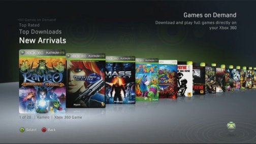 Your U.S. Xbox 360 Games On Demand Launch Titles