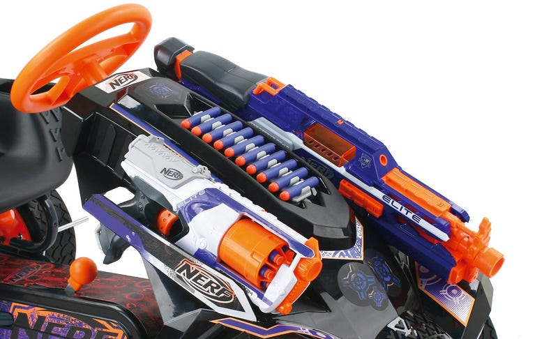 Armed With Your Nerf Blasters this Go-Kart Becomes a Mad Max-Like War Machine