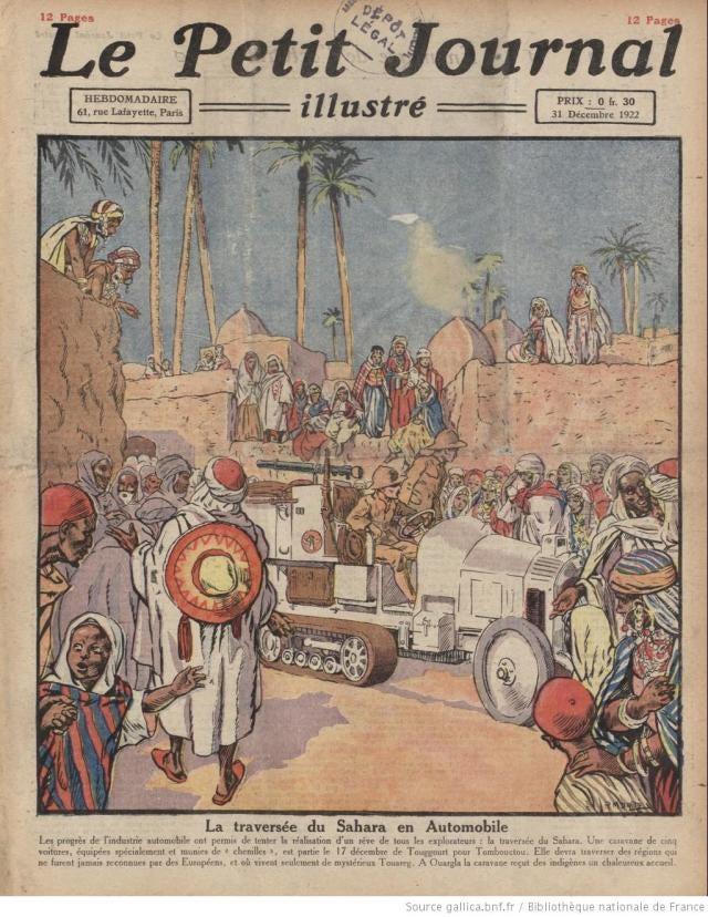 La travesía del Sahara en automóvil