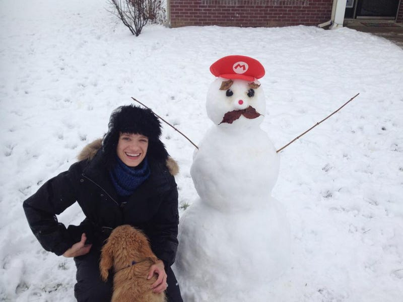 Snow Mario is Best Mario