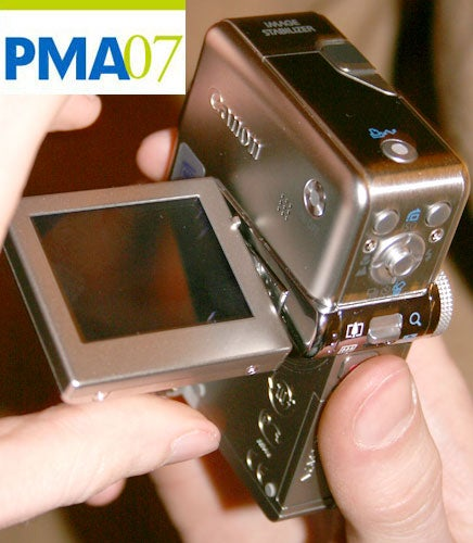 PMA 07: First Footage From the Canon PowerShot TX1 720p Shooter