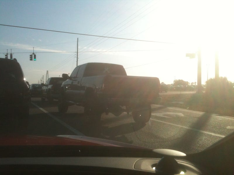 This Lifted Pickup Wanted To Street Race