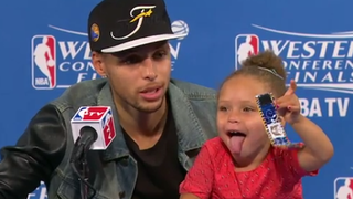 Steph Curry's Sports Baby Is Back. This One's For The Haters.