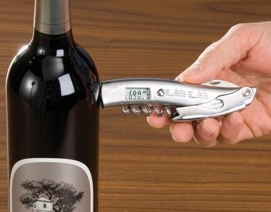 Infrared Wine Thermometer, Corkscrew