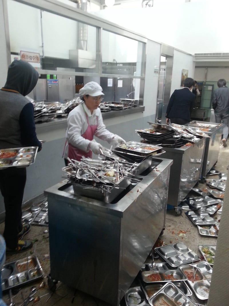 Internet Shocked by Korea's School Lunch Chaos