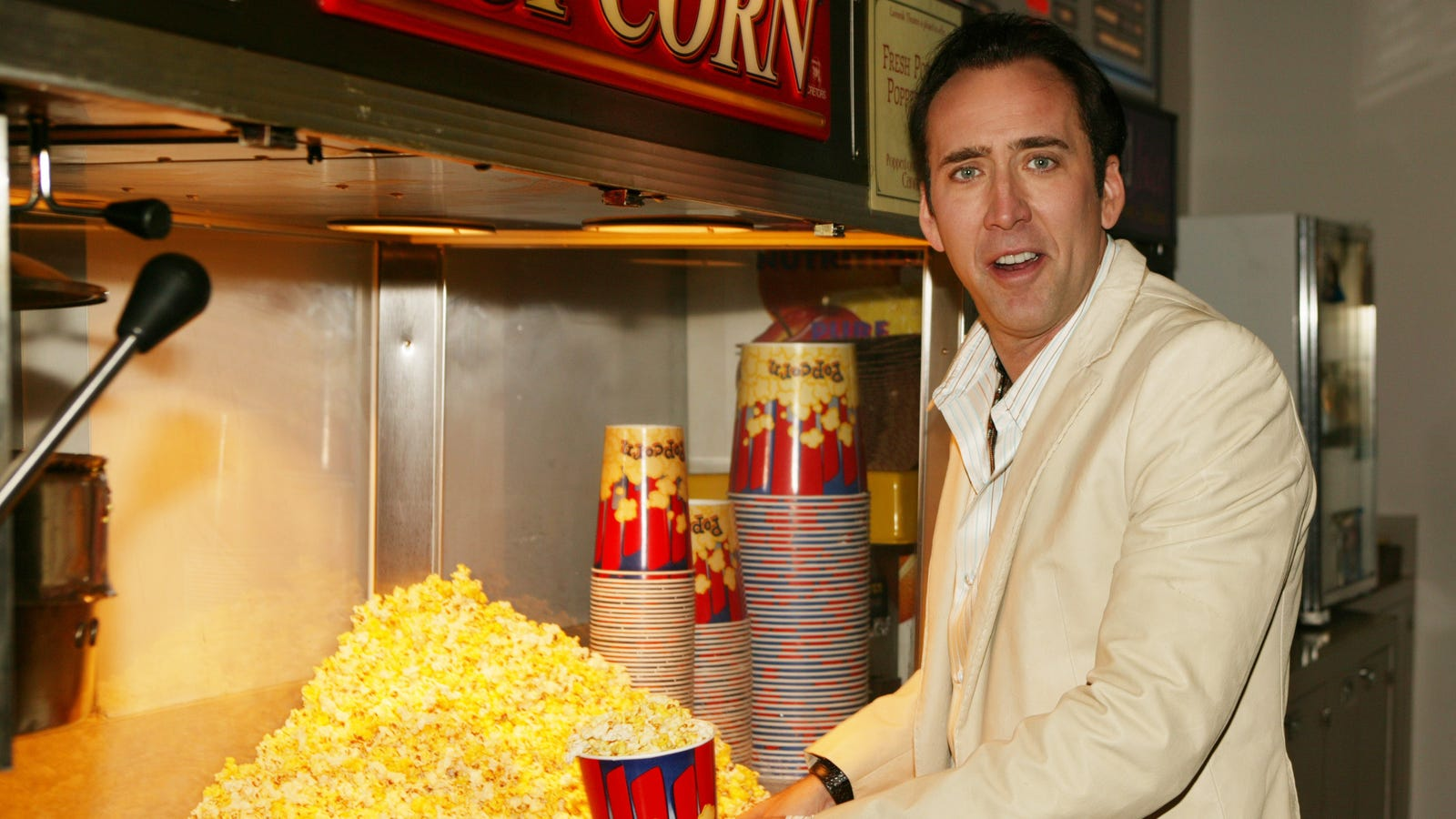 Nicolas Cage is no longer a tasty corn treat