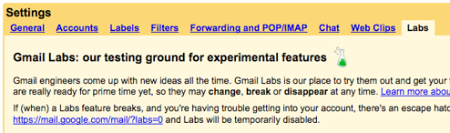 Gmail Gets 13 Experimental New Features