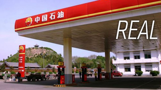 China Has Knockoff Gas Stations Now