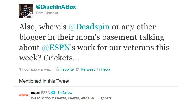 Could Someone Congratulate This ESPN Associate Director On His Network's PSU And Veterans Day Coverage?