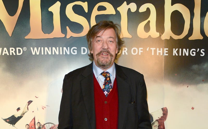 Stephen Fry Tried to Commit Suicide Last Year