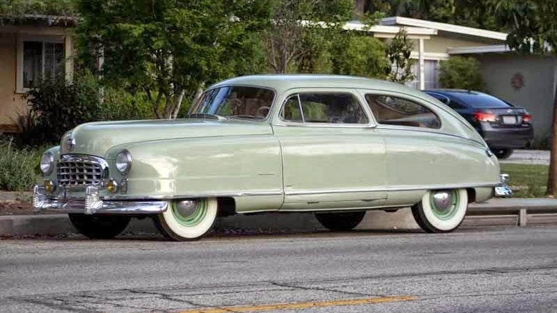 Cruise In A Bathtub Shaped Nash For Less Than $10k