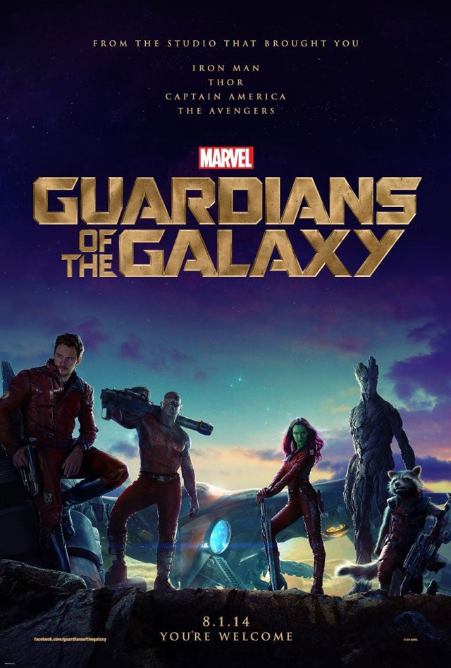 GotG movie poster looks amazing...