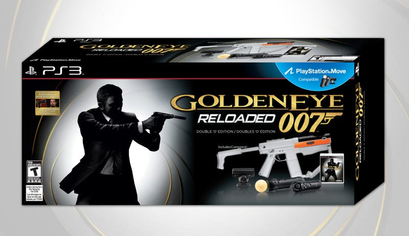 GoldenEye 007: Reloaded PS3 Bundle Hits Nov. 1
