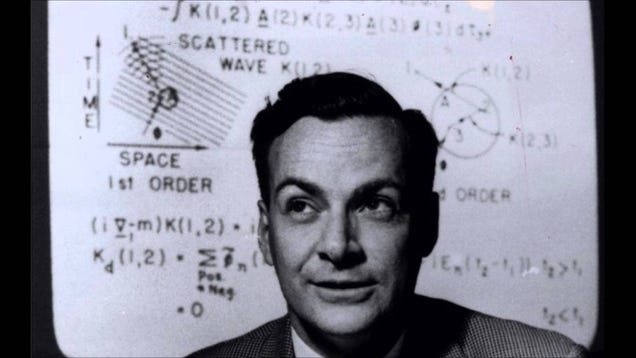 You Can Now Access All Of Richard Feynman's Physics Lectures For Free