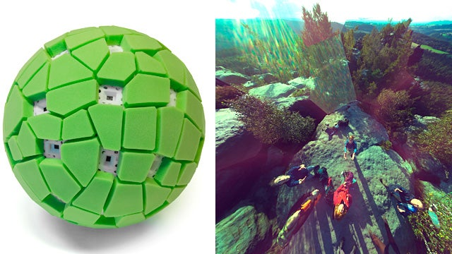 Point, Throw, and Shoot: The Panoramic Ball Cam