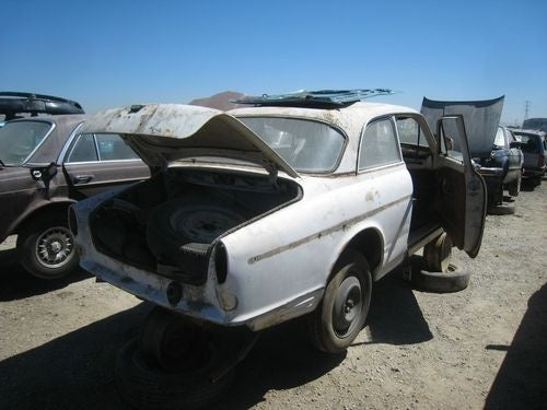 Volvo Amazon Double Header Down On The Junkyard
