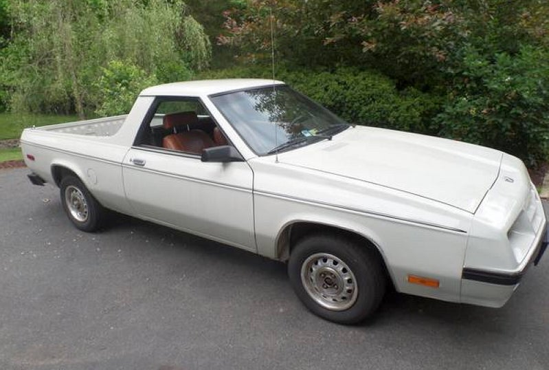 How About a Dodge Rampage for $1,950?