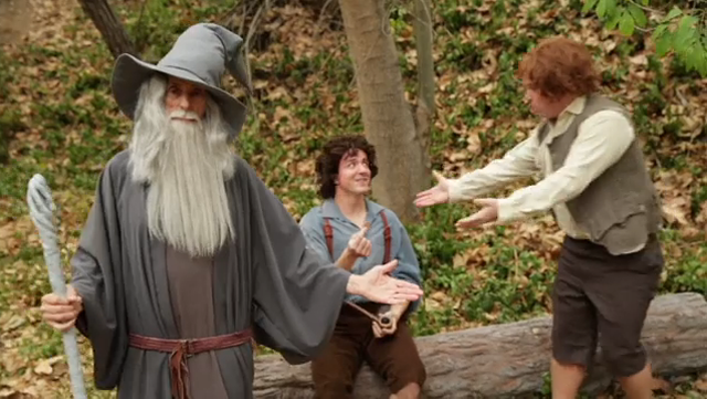 This Week's Top Comedy Video: Gandalf Street Magic