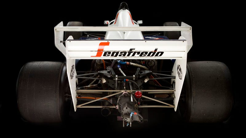 Ayrton Senna's Toleman TG184-2 F1 Car To Sell At Auction