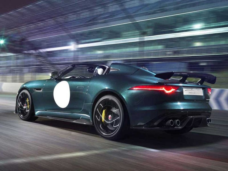 Sweet Merciful Crap: Jaguar Is Building A Production F-Type Project 7!