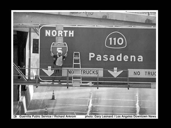 The Secret of L.A.'s 10-Year-Old Fake Freeway Sign