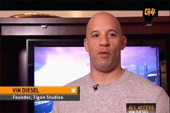 Vin Diesel Begged For Dark Athena Multiplayer