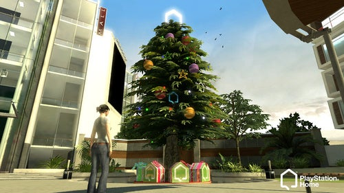Christmas Comes To PlayStation Home