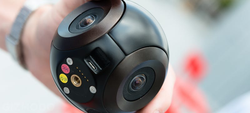 The Bublcam: Live 360-Degree Video With No Blind Spots