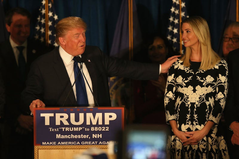 'Don't You Think My Daughter's Hot?' Donald Trump Once Reportedly Said of His Biological Child