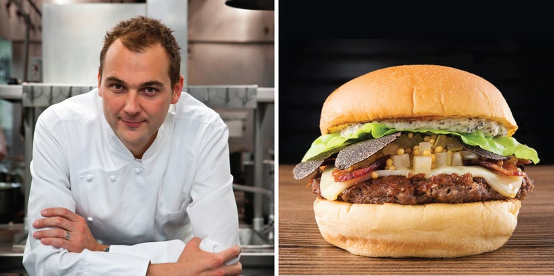 I want to eat all these Shake Shack burgers made by world class chefs