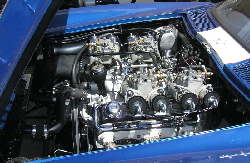The beating heart of a Corvette Grand Sport