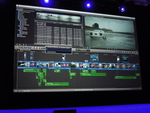 Final Cut Pro X is Apple's Next Generation Video Editor