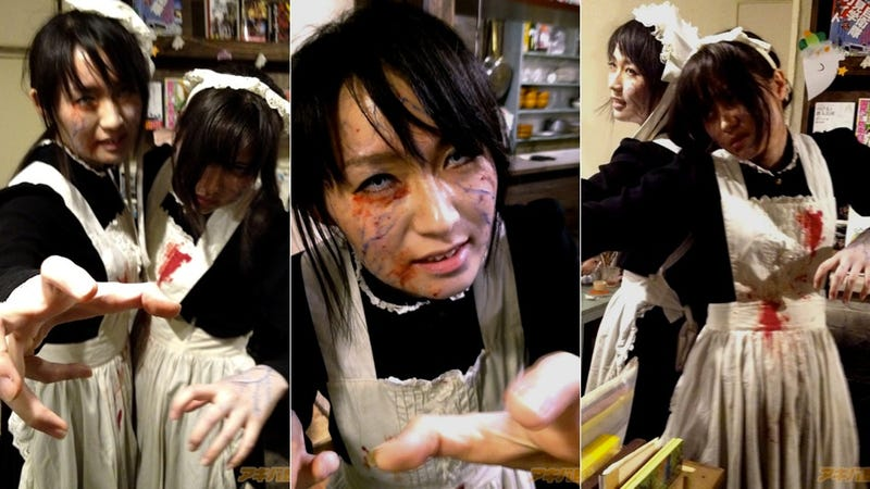 Zombie Maids Want To Make You Omelets