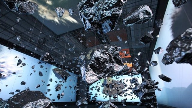 How Did This Artist Freeze an Exploding Boulder In Time?