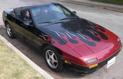 Flame-On With a $2,600 RX7 Convertible!