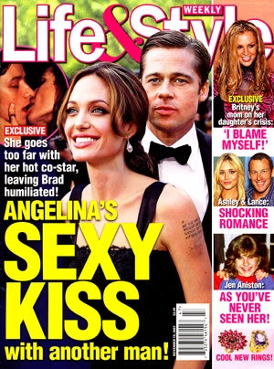 Today in Tabloids: Britney Continues to be a Shitty Mom; Angelina May Be Boning Her Bodyguard
