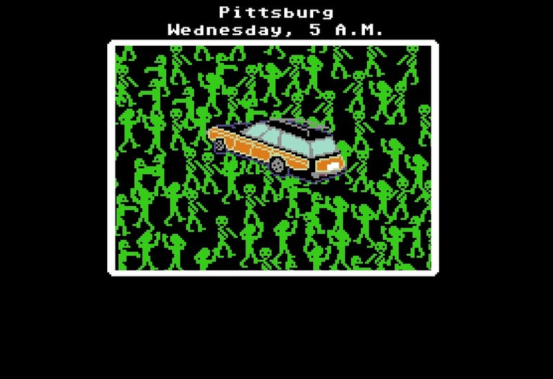 "Flee the zombie hordes on the ""Organ Trail"""