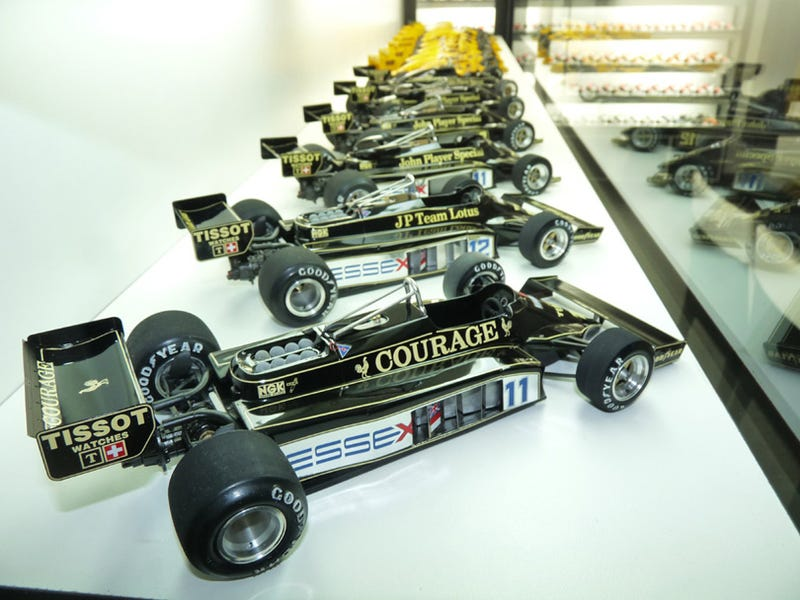 Mtrspeed's Formula 1 Models House